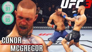 Conor McGregor's Hands Are Deadly! Folding Everyone! EA Sports UFC 3 Online Gamplay