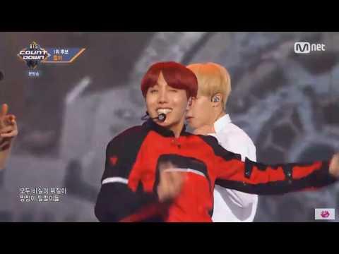 BTS(방탄소년단) - DOPE(쩔어) (BTS COUNTDOWN 20171012 @ M COUNTDOWN)