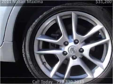 2011 Nissan Maxima New Cars Colorado Springs CO