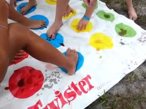 Messi Playing as a Kid Kids Camp 2013 Messy Twister