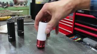 Impact Lug Nut Socket with Nylon Sleeve