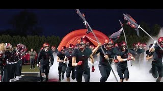 Lincoln Way Central Football 2018 Season Highlights