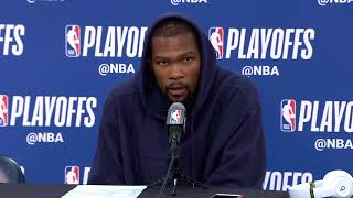 Kevin Durant Postgame Interview - Game 4   Warriors vs Pelicans   May 6, 2018   2018 NBA Playoffs 6.37 MB