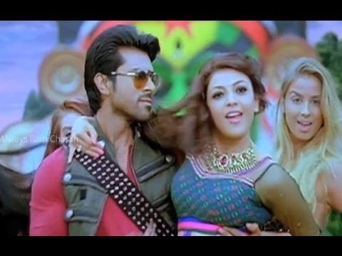 My first dance number with two heroines for Hey Naayak song