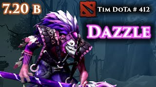 Dazzle   7.20b   Feels good just should have played differently   Tim Dota 412
