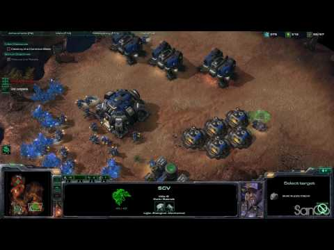 StarCraft 2 - Playthrough / Mission 2 [The Outlaws 2/2] Part 3 Video