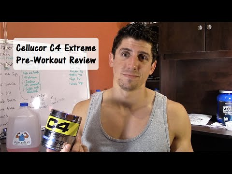Cellucor C4 Extreme Pre-workout Review
