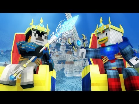 """Atlanteans"" - A Minecraft Parody of David Guetta Titanium (Minecraft Song)"