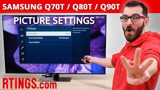 02. Samsung Q70T, Q80T & Q90T(2020 QLED) - TVPicture Settings