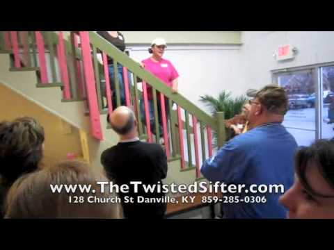 Twisted Sifter Cake Shop Ribbon Cutting cupcakes Danville, KY