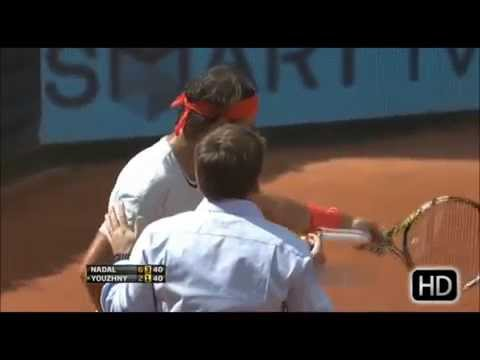 Angry Nadal vs Umpires [Extended version]