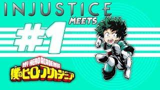 Midoriya Izuku in Injustice Online Adventure! | ROBLOX | Injustice Meets #1