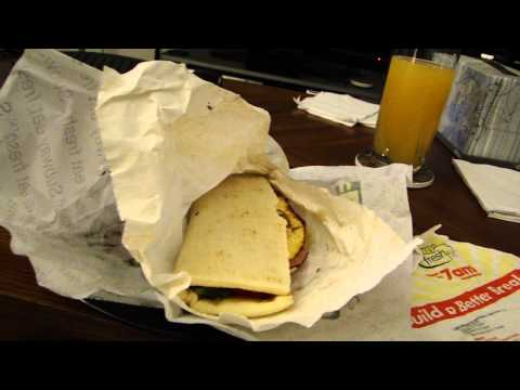 DSP Tries It Ep. 7 - Subway Western and Cheese breakfast sandwich
