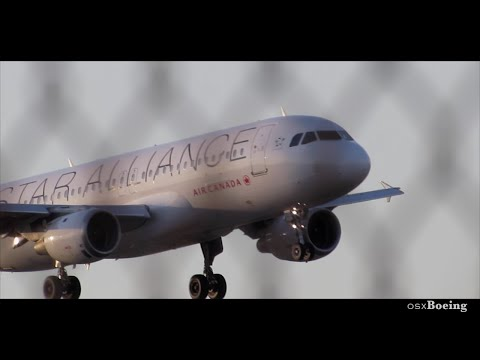 *Star Alliance* Air Canada A320 - Sunset Landing at Fort Lauderdale KFLL