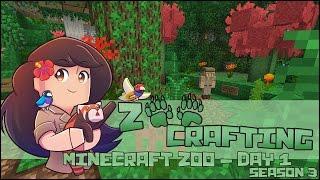 The Growing Animal Wonderland of Zoodesia Zoo!! 🐘 Zoo Crafting: Episode #1 • Season 3