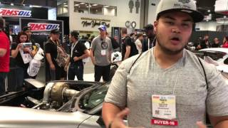 Rob Dahm's 4-Rotor AWD RX7 FD at SEMA 2016
