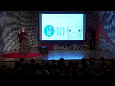 Blab Droids — Self-Learning Social Cloud Robots: Alex Reben at TEDxBeaconStreet