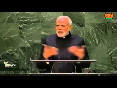 PM Shri Narendra Modi speech at United Nations General Assembly in New York.