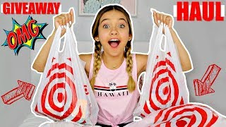BACK TO SCHOOL TARGET SHOPPING HAUL 🎯  |  🔥 OPEN GIVEAWAY 🔥