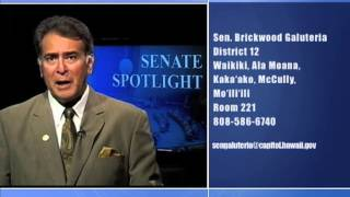 Senate Spotlight: Featuring Senator Brickwood Galuteria