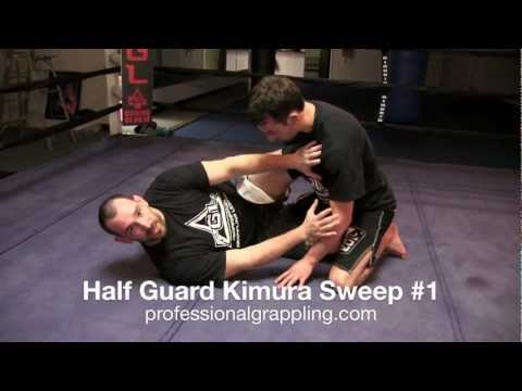 PGL Professional Grappling League - Instructional with Rob Mudrak - Half Guard Kimura Sweep #1 Image 1