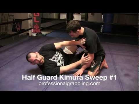 PGL Professional Grappling League - Instructional with Rob Mudrak - Half Guard Kimura Sweep #1 Image 1