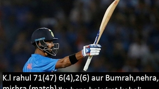 K L Rahul smashed innings against 2nd T20 England 71 run in 47 boll | India vs England 3rd T20 bump