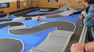 Indoor Dirt Race Gschwendt 2012 - 1:10 RC Car Rennen - 2. A-Finale 2WD Mod - 1080p