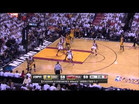 May 24, 2014 - ESPN (1of2)- Playoffs East Conf Finals Game 03 Miami Heat Vs Pacers - Win (02-01)(HL)