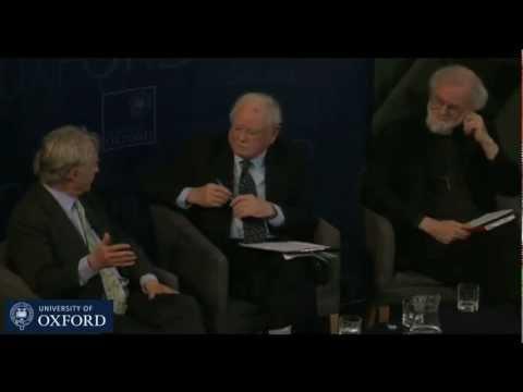 """Richard Dawkins, Rowan Williams, Anthony Kenny: """"Human Beings & Ultimate Origin"""" Debate"""