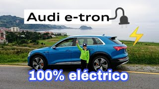 Audi e-Tron 🚗⚡🔌Coche SUV 100% eléctrico 😍🚀 Prueba test a tope!! Interior exterior precio review