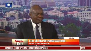 Polls Shift: University Professor Highlights The Dangers In Unbundling INEC Sunrise Daily