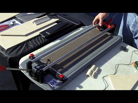Rubi Tools Stops By Again To Show Off Some Tile Cutters