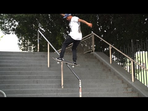 Chaz Ortiz Kickflip Fs Board Hollywood High 16 SLOW Motion