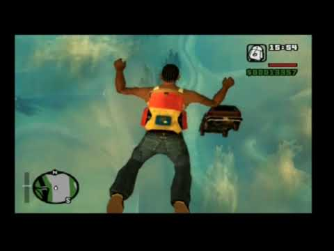 Grand Theft Auto - San Andreas - Parachute - Copyright notice: I Don't own the music Willie Nelson - Crazy.