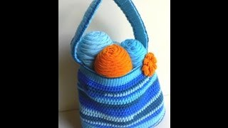 Scraptastic Bag Part 1 of 2 Crochet Tutorial