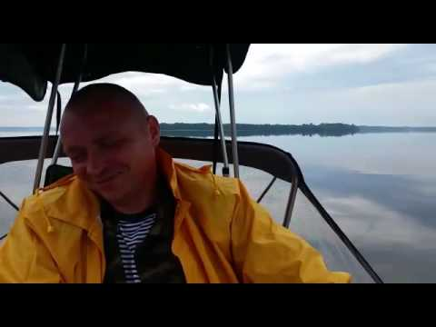 ловля судака на озере отрадное