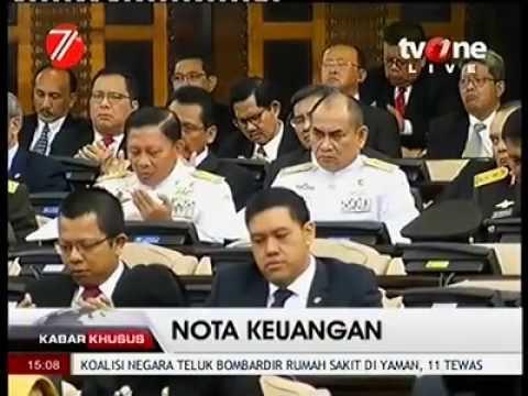 Do'a Menggemperkan Oleh Anggota DPR RI Dari Fraksi Gerindra, Muhammad Syafi'i Untuk Memimpin Doa.