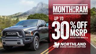 Get up to 30% OFF MSRP on New 2017/2018 RAM TRUCKS & Select Vehicle Models