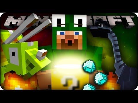Minecraft Mods - LUCKY BLOCK CHALLENGE #2 - DINOSAURS! (Dinosaur Mod)