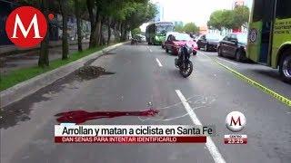 Arrollan y matan a ciclista en Santa Fe