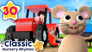 NEW Tractor Song Part 2 | +More Vehicle Songs | Little Baby Bum | Nursery Rhymes