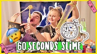 MAX 1. MAL... SLIME ! 60 SECONDS CHALLENGE | MaVie