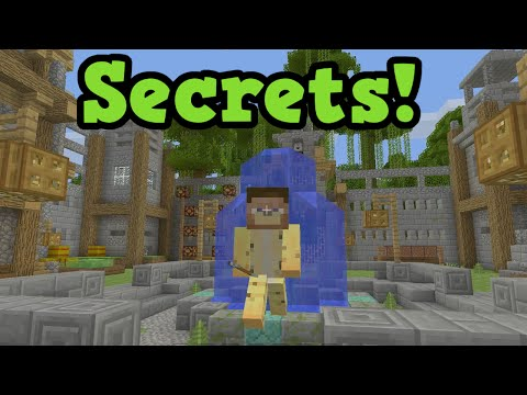 Minecraft Xbox One / PS4 TU36 Secrets - LOBBY