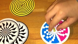 Illusion Science Kit Stroop Effect Challenge at the end