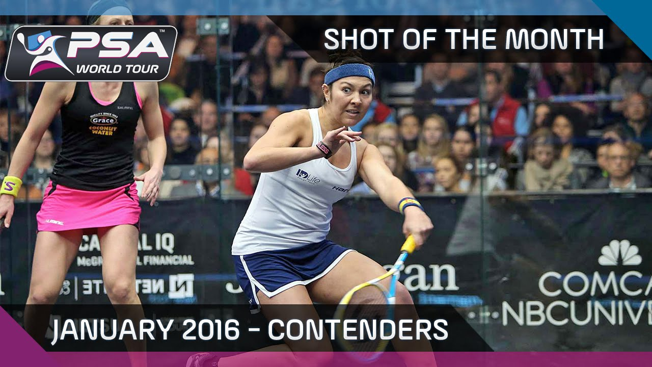 Squash: Shot of the Month - January 2016 Contenders