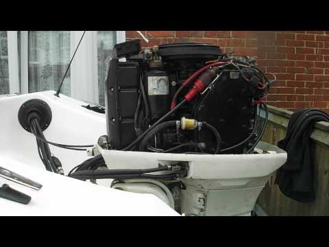 Johnson 60 hp VRO . Outboard