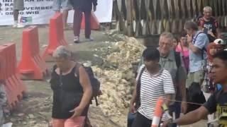 Bupati Jeje Uji Coba Jembatan Bailey Putrapinggan, Sehari Sebelum Diresmikan