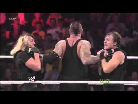 Wwe Roman Reigns Spear Tribute video