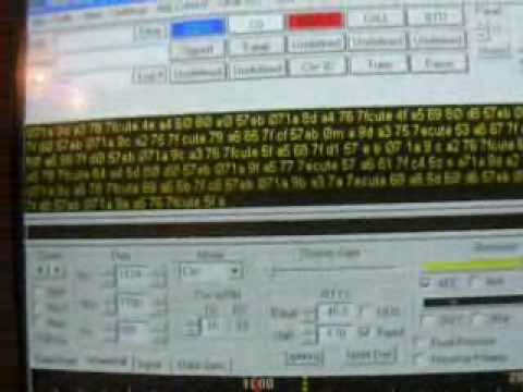 Cube satellite CO-55 Telemetry